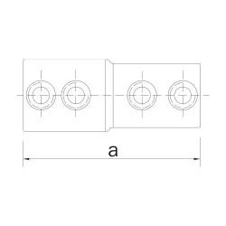 Buiskoppeling Ø33,7 - Verloopstuk 33,7 - 26,9
