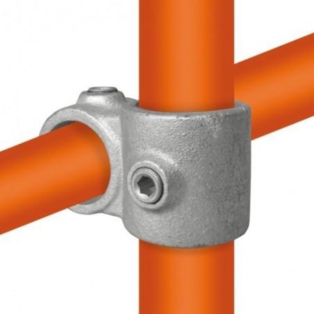 Buiskoppeling Ø42,2 / Ø33,7 - Kruisstuk uitwendig 90°