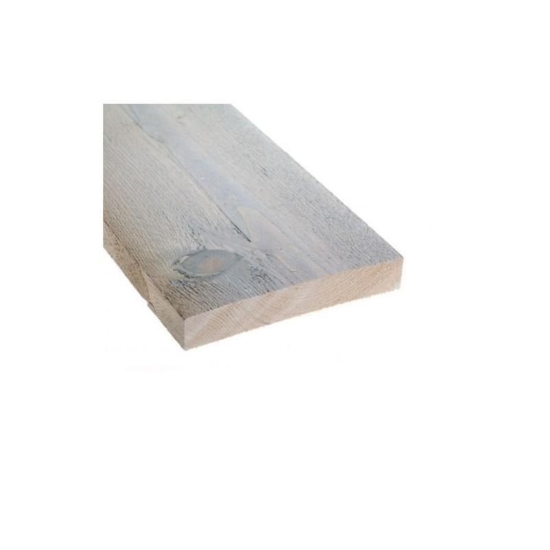 Steigerplank vintage 19,5 x 3,2 x 250 cm