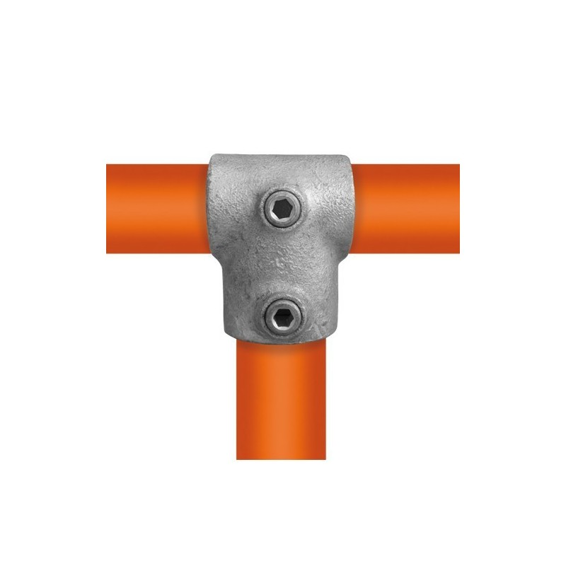 Buiskoppeling Ø42,4 / Ø33,7 - T-stuk verloop