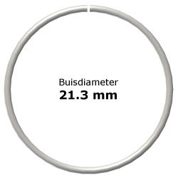Ring uit steigerbuis Ø21,3