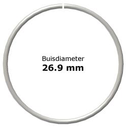Ring uit steigerbuis Ø26,9