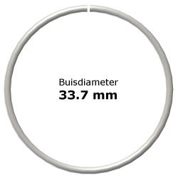 Ring uit steigerbuis Ø 33,7