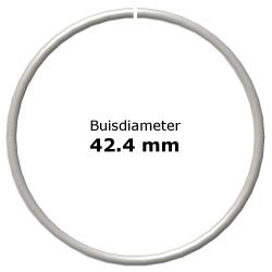 Ring uit steigerbuis Ø42,4
