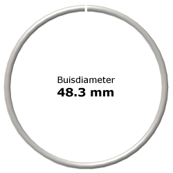 Ring uit steigerbuis Ø48,3