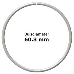 Ring uit steigerbuis Ø60,3