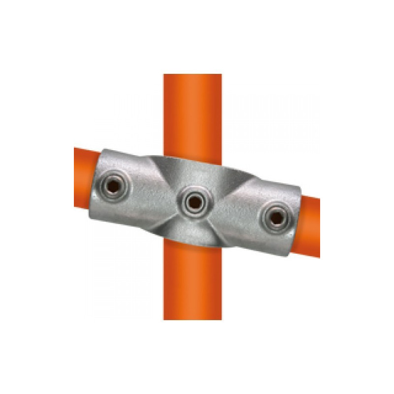 Buiskoppeling Ø42,4 - Kruisstuk variabele hoek 0 - 11°