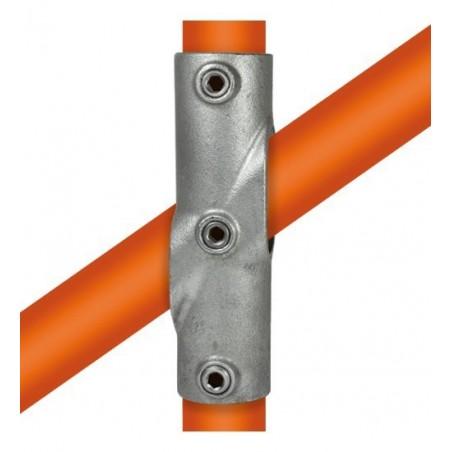 Buiskoppeling Ø33,7 - Kruisstuk variabele hoek 30 - 45°