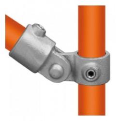 Buiskoppeling Ø60,3 - Buiskoppeling - Scharnierstuk enkel (compleet)