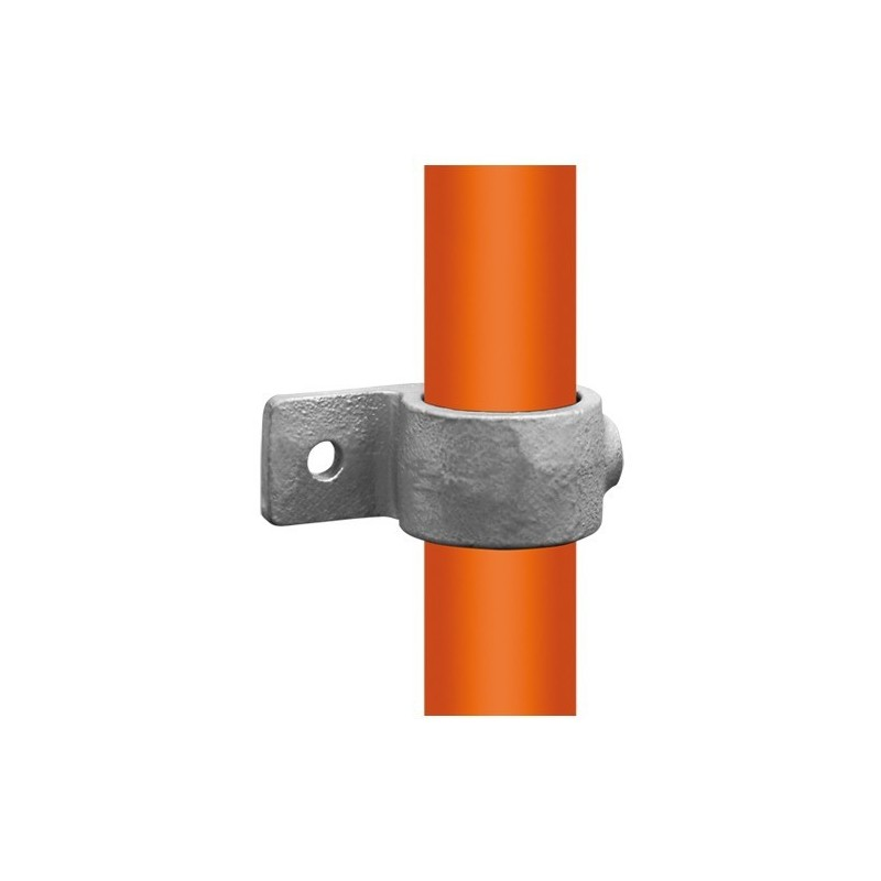 Buiskoppeling Ø33,7 - Enkele bevestigingslip uitwendig