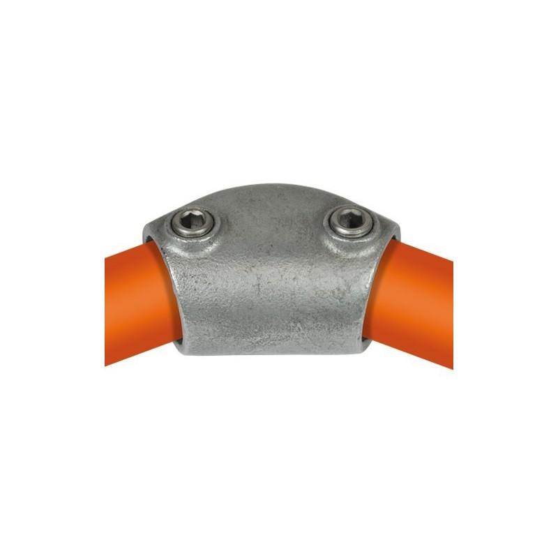 Buiskoppeling Ø33,7 - Kniestuk variabel 15 - 60º