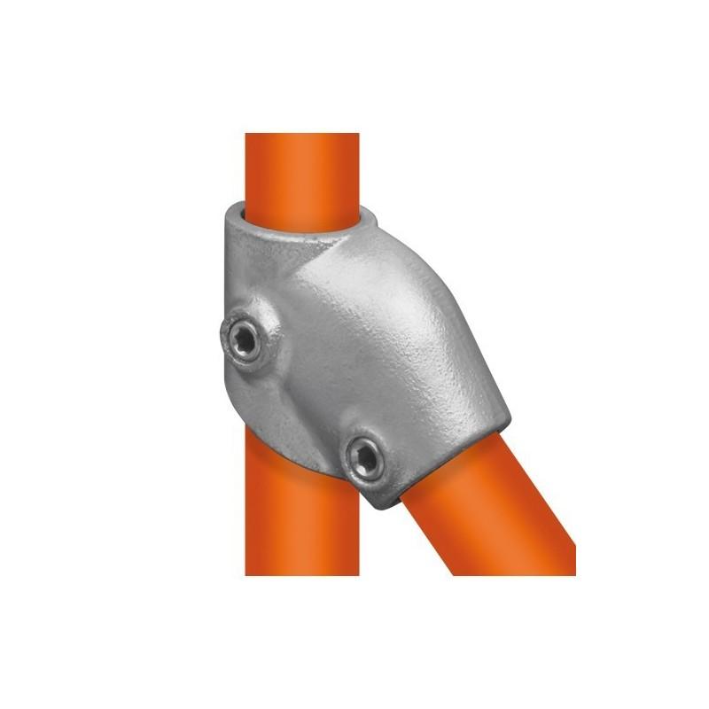 Buiskoppeling Ø48,3 - T-stuk variabel 30° - 60°