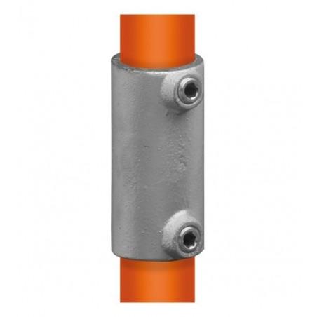Buiskoppeling Ø48,3 - Recht verbindingsstuk uitwendig