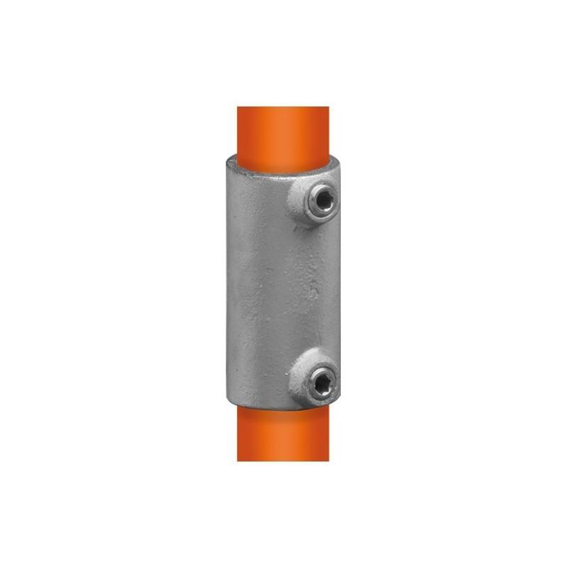 Buiskoppeling Ø60,3 - Recht verbindingsstuk uitwendig