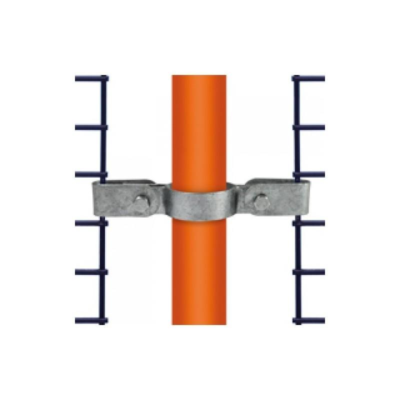 Buiskoppeling Ø33,7 - Gaasbevestigingsclip dubbelzijdig