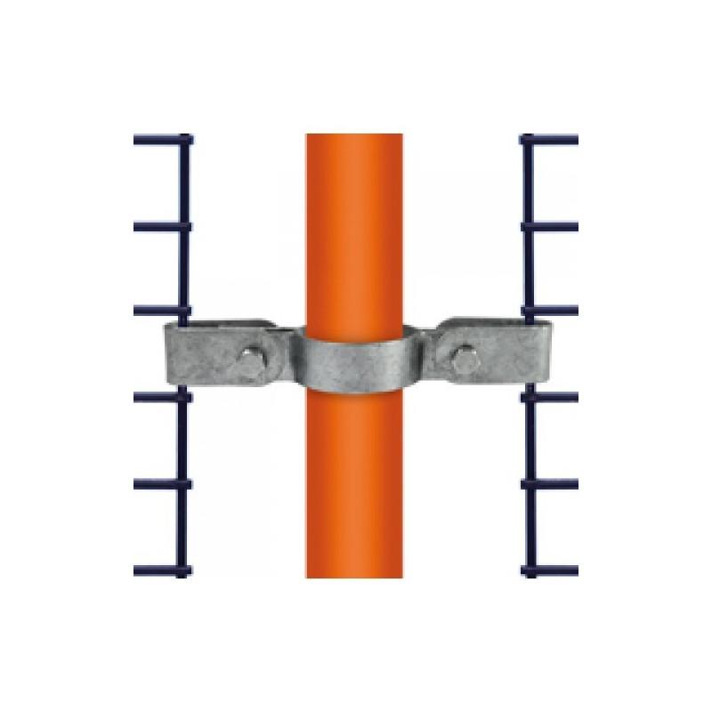 Buiskoppeling Ø42,4 - Gaasbevestigingsclip dubbelzijdig