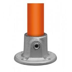 Buiskoppeling Ø33,7 - Ronde wand/plafond/voetplaat
