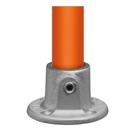 Buiskoppeling Ø48,3 - Ronde wand/plafond/voetplaat