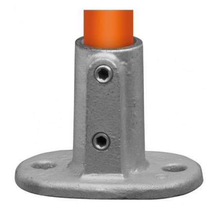 Buiskoppeling Ø60,3 - Voetplaat ovaal