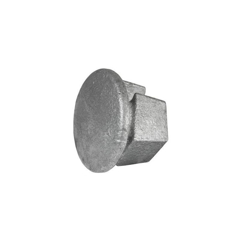 Buiskoppeling Ø60,3 - Inslagdop metaal
