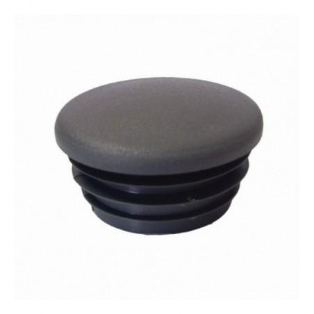 Buiskoppeling Ø42,4 - Inslagdop zwart kunststof