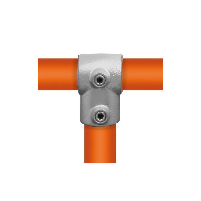 Buiskoppeling Ø42,4 - Kort T-stuk