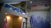 Kinderkamer inrichten met steigerbuizen